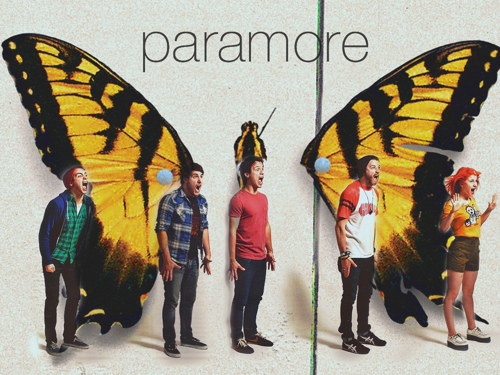 Paramore Brand New Eyes Back Cover