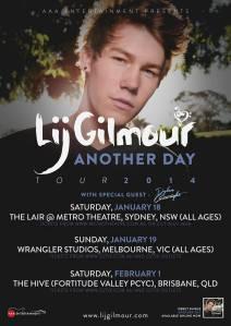 Lij Gilmour Tour